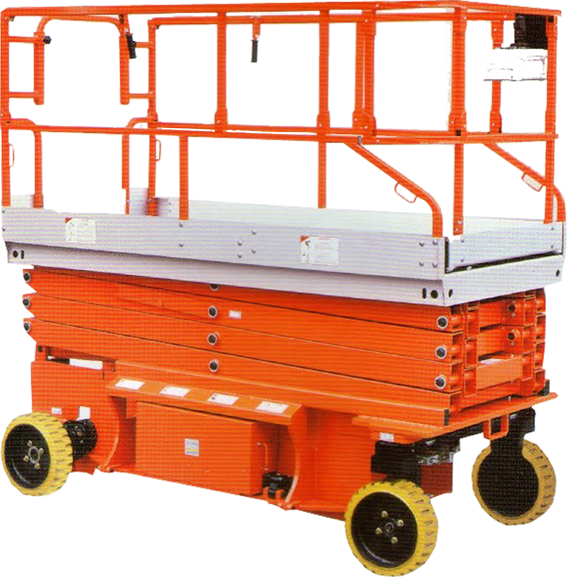 Mobile Scissor Lifts NJCPT 1214